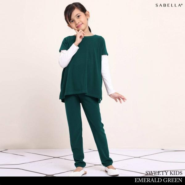 Sweety 3.0 Kids Emerald Green (01)