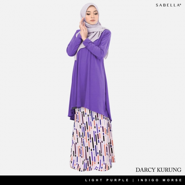 Darcy Light Purple-Indigo Morse