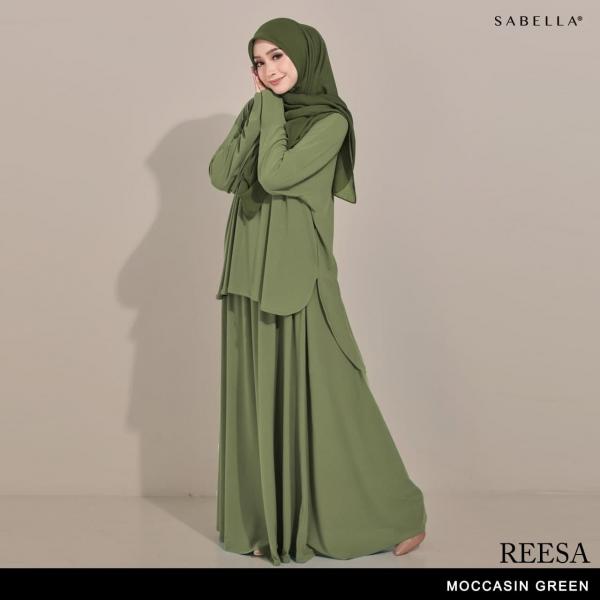 Reesa (GR) Moccasin Green