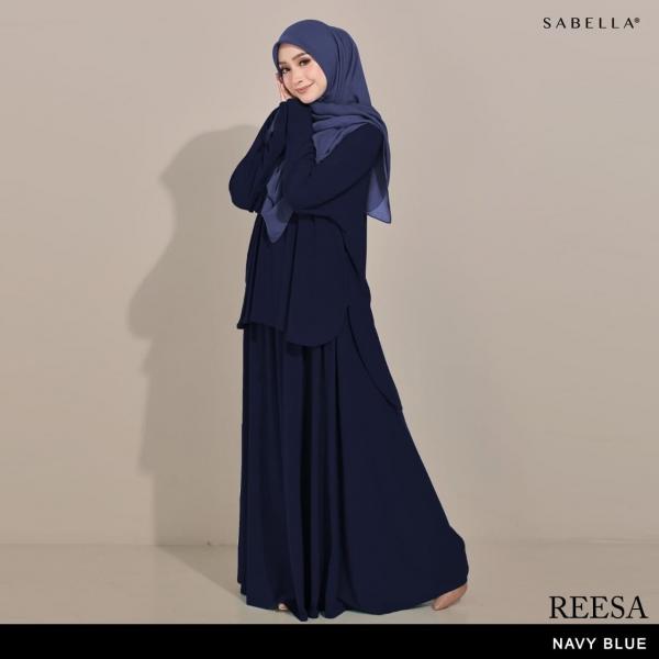 Reesa (GR) Navy Blue