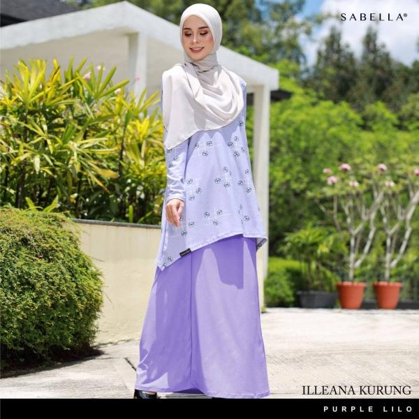 Illeana Purple Lilo