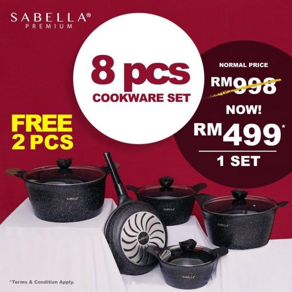 Sabella Premium Cookware Set