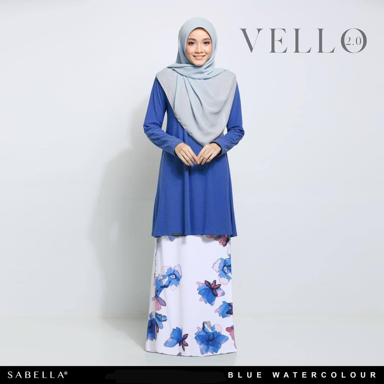 Vello 2.0 Blue Watercolour