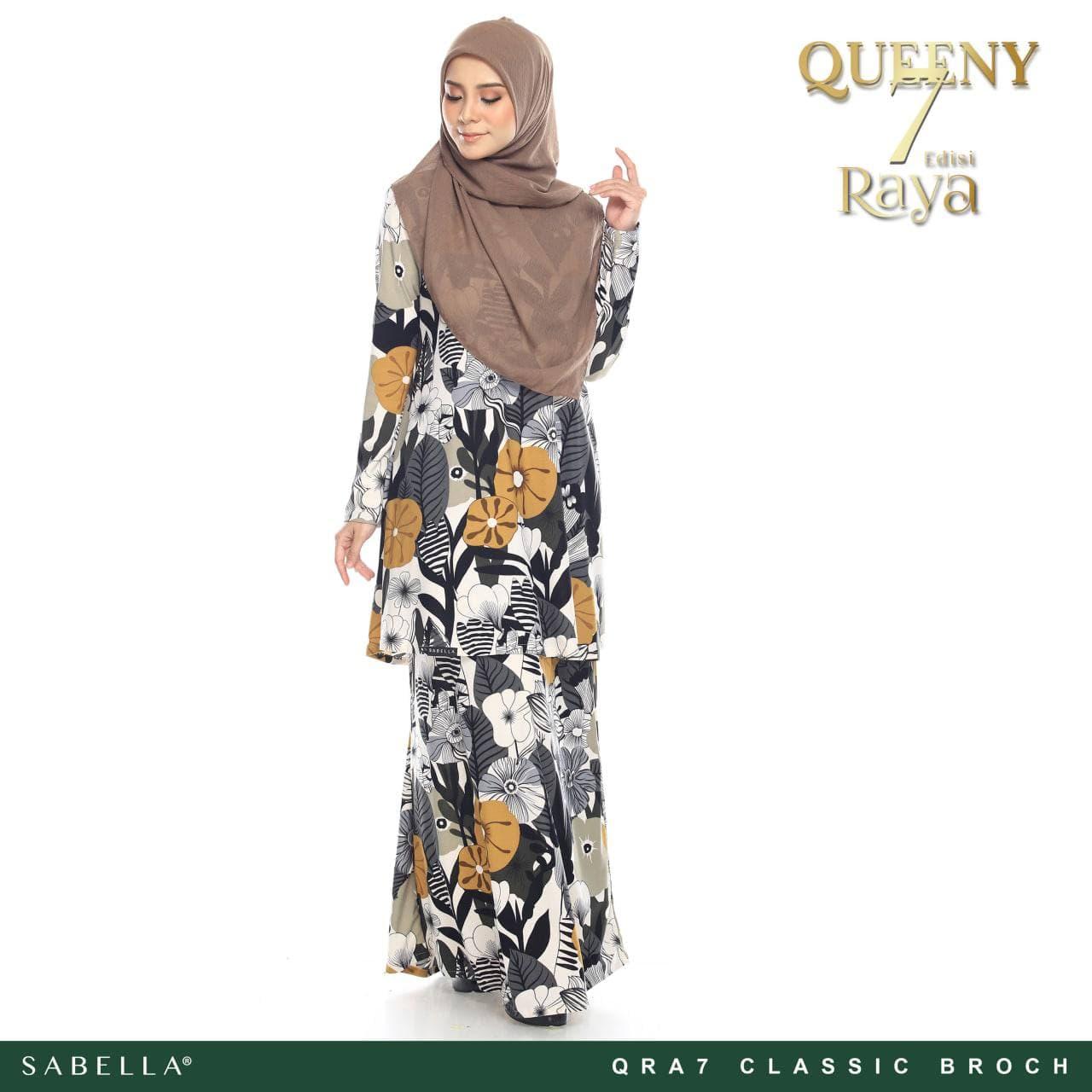 Queeny Raya 7.0 Classic Broch