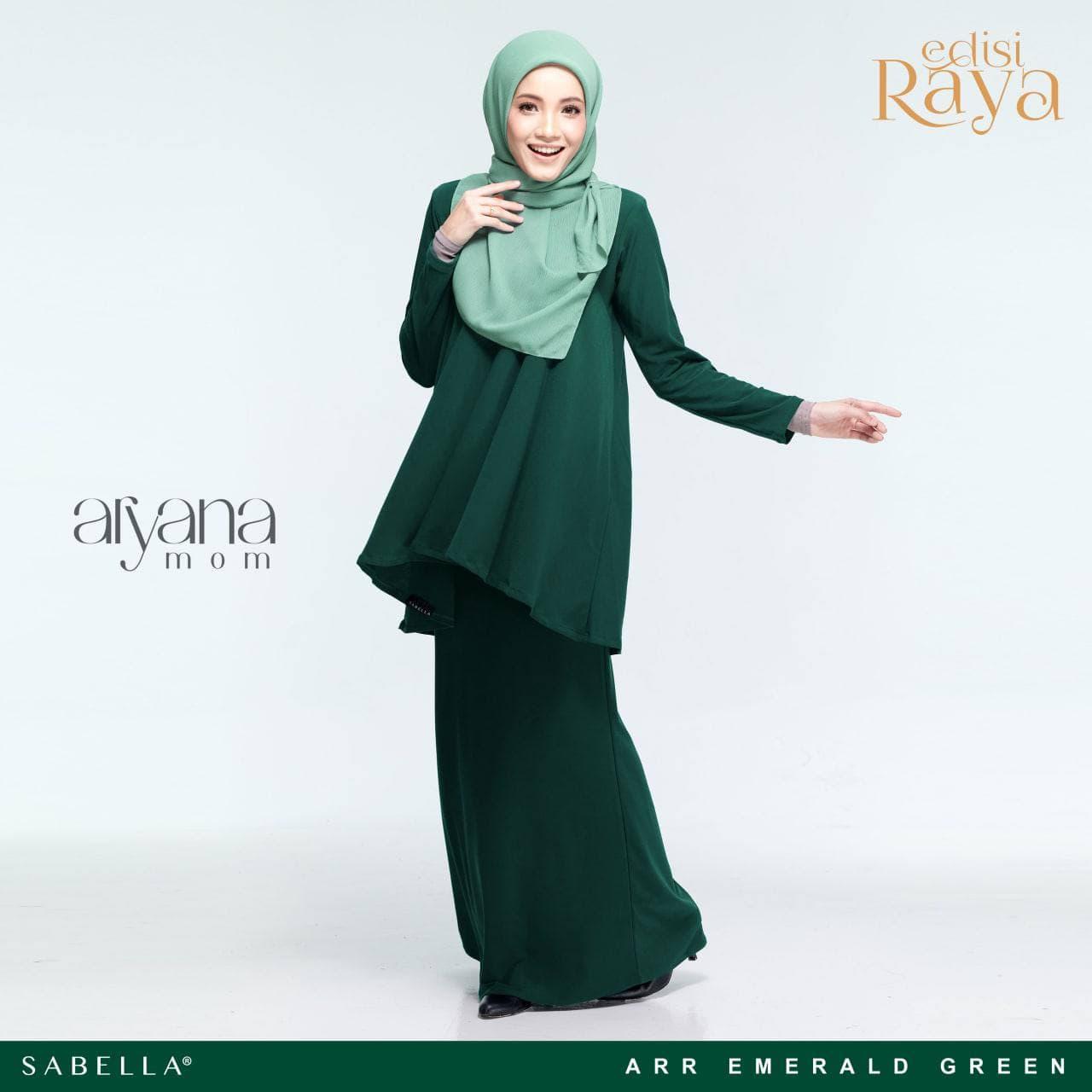 Aryana Emerald Green