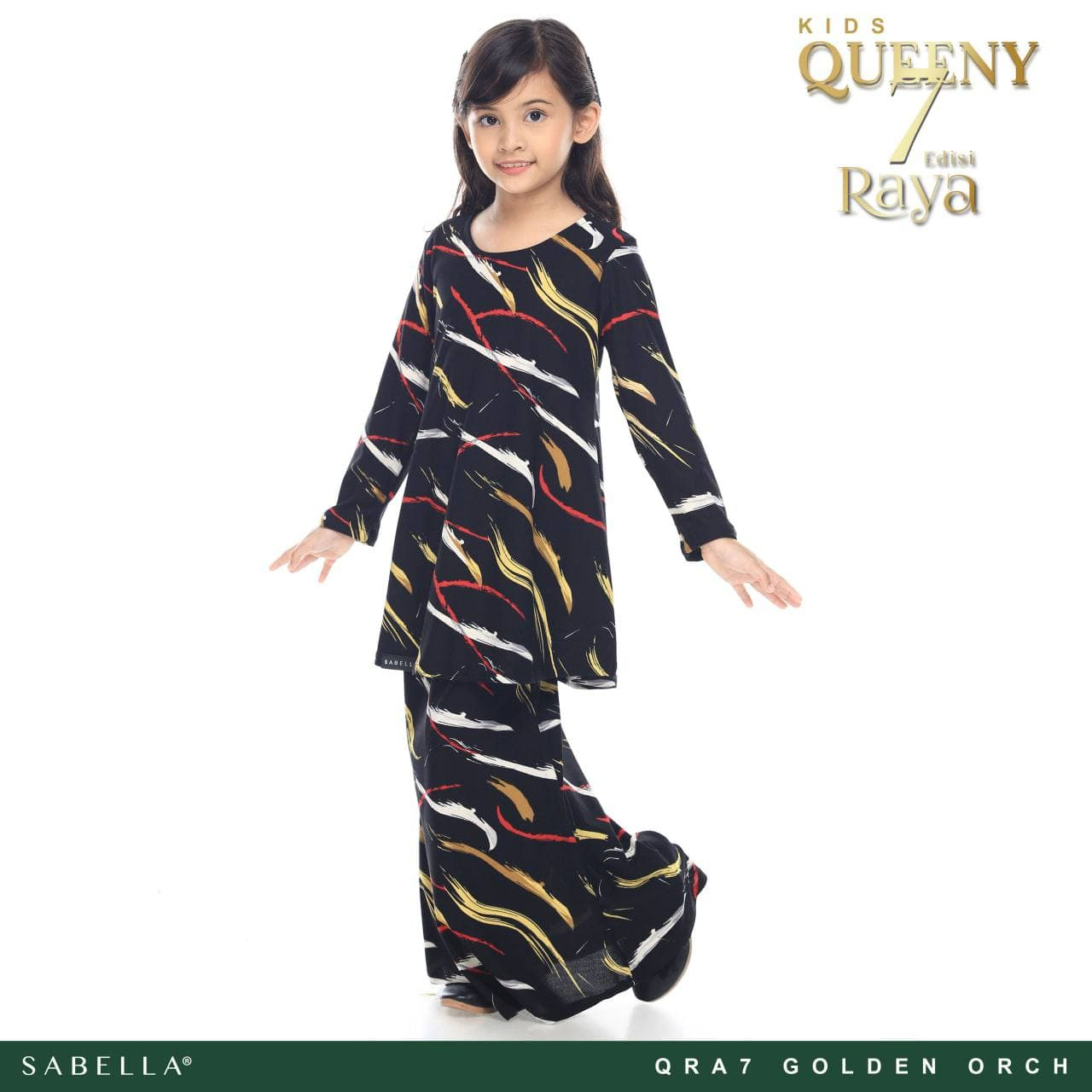 Queeny Raya 7.0 Kids Golden Orch