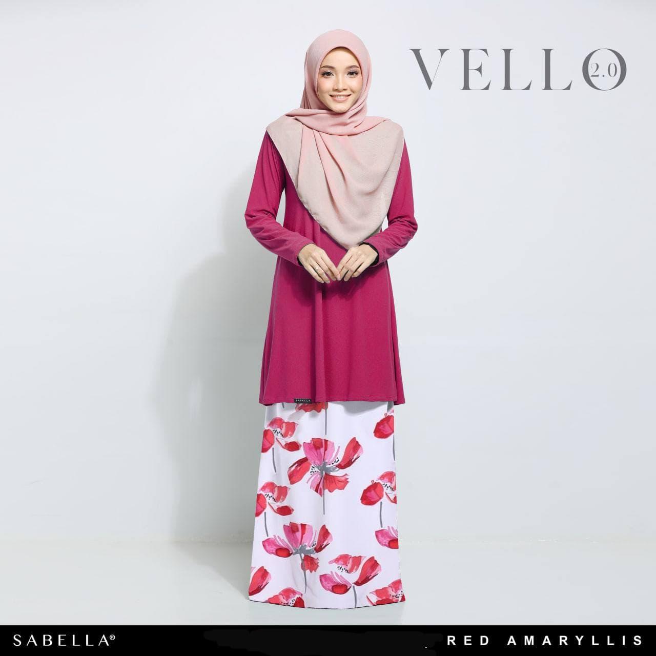 Vello 2.0 Red Amaryllis