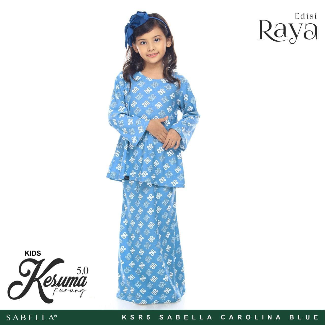 Kesuma Raya 5.0 Kids Sabella Carolina Blue