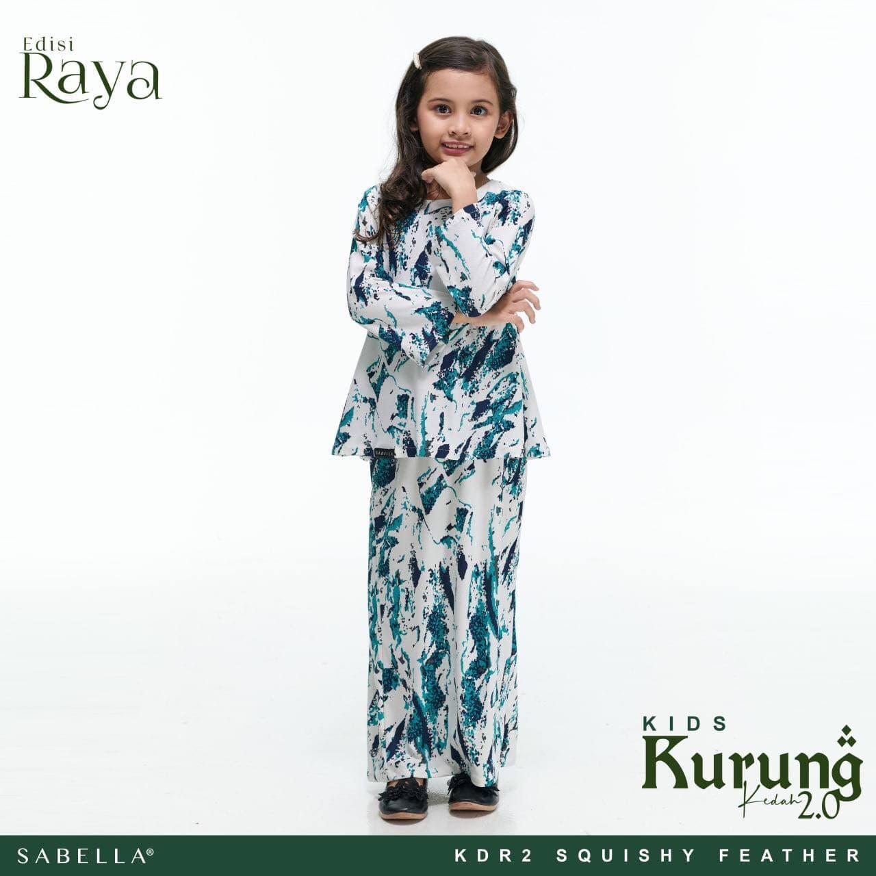 Kurung Kedah Raya 2.0 Kids Squishy Feather
