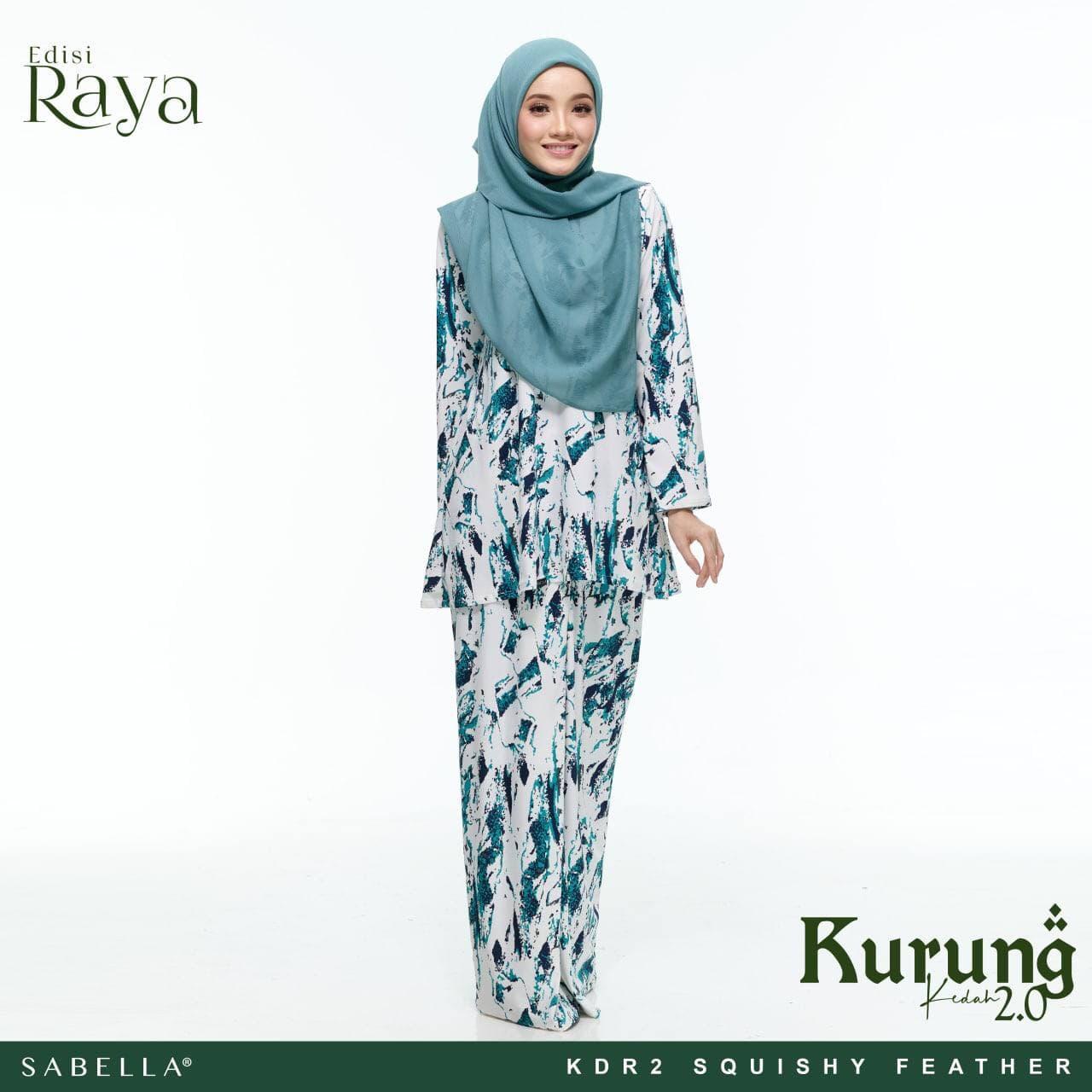 Kurung Kedah Raya 2.0 Squishy Feather