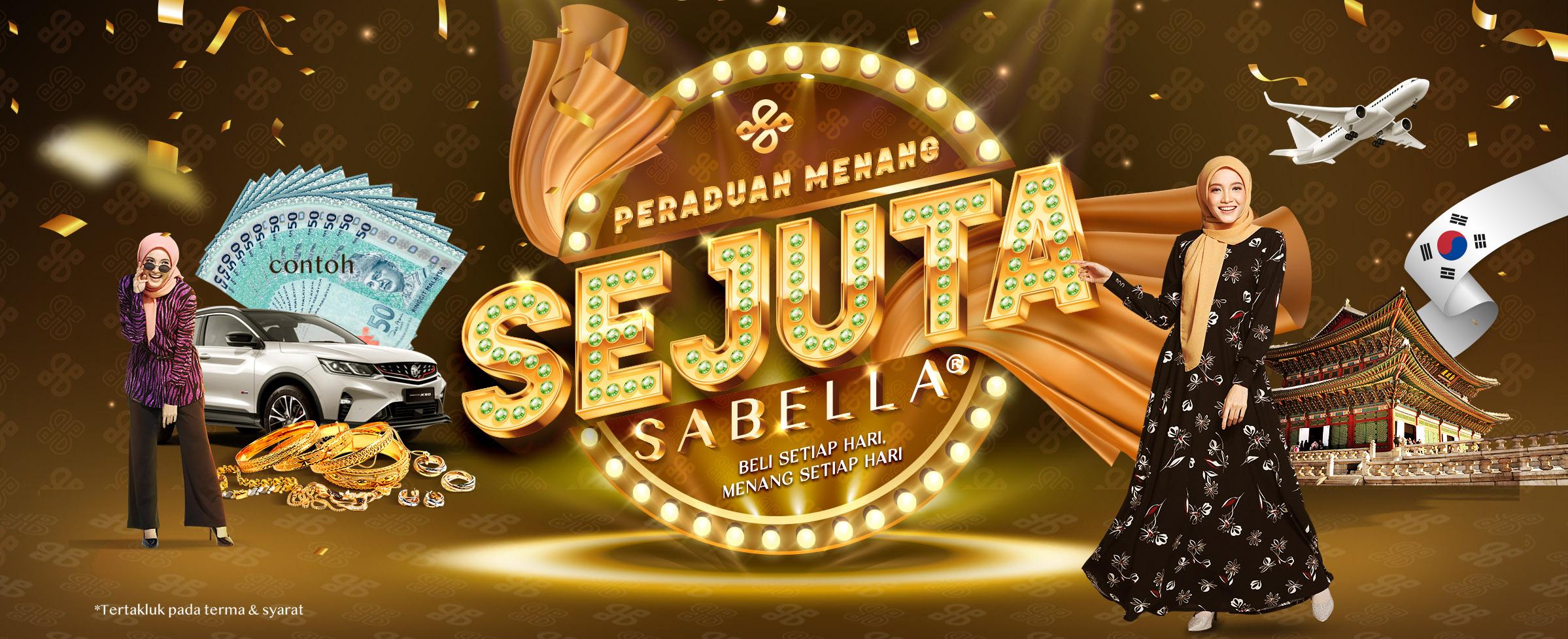 Contest Menang 1 Juta Sabella
