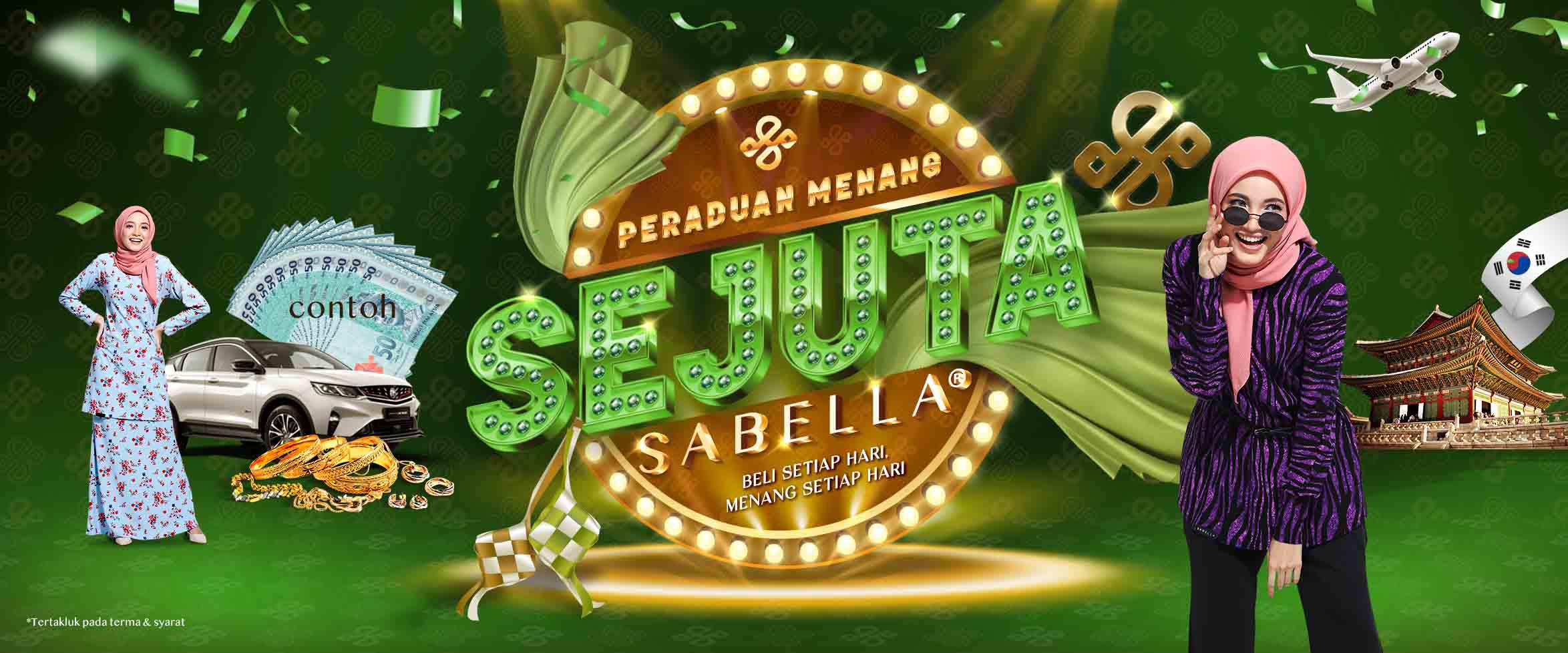 Contest Menang 1 Juta Sabella (Raya Edition)