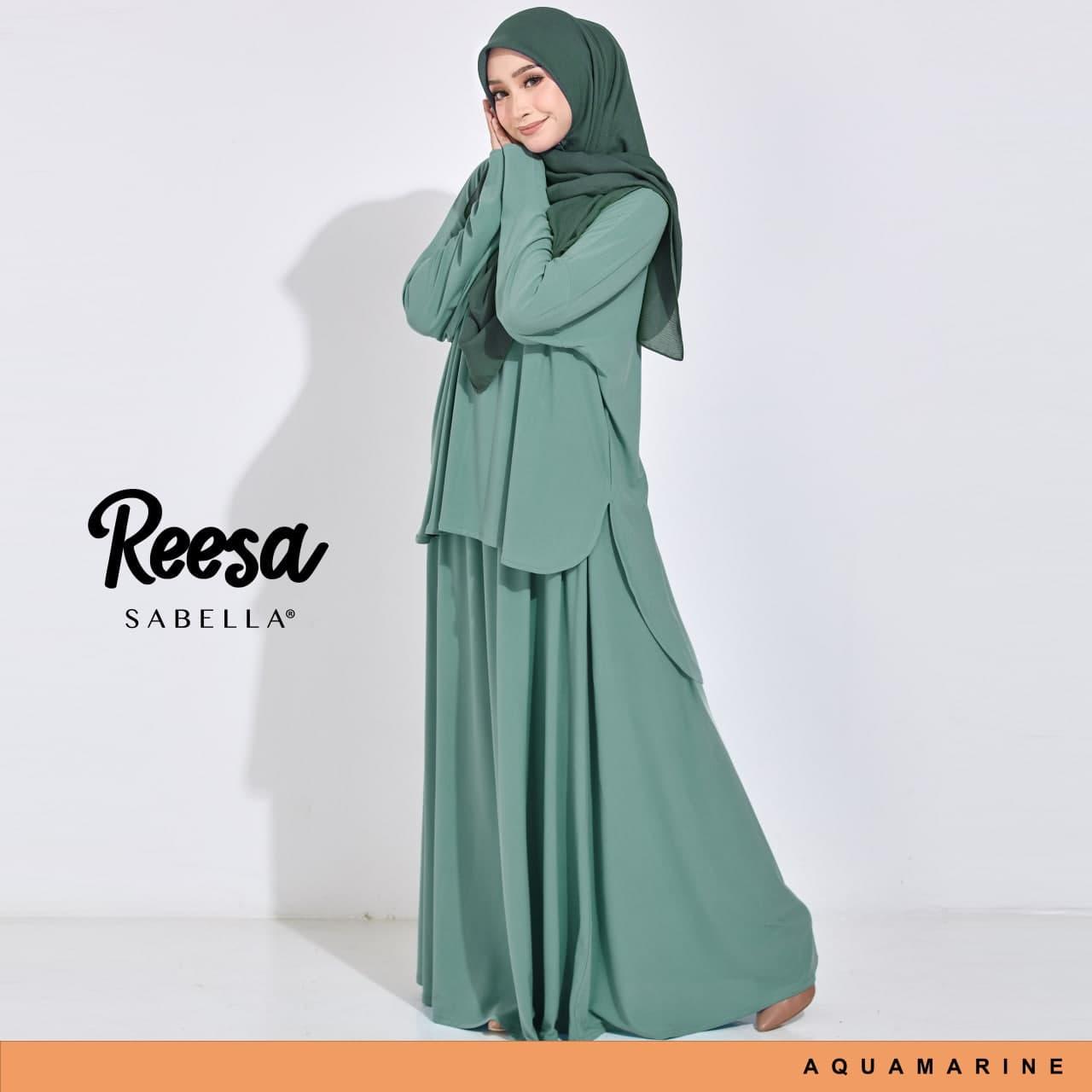 Reesa 4.0 Aquamarine