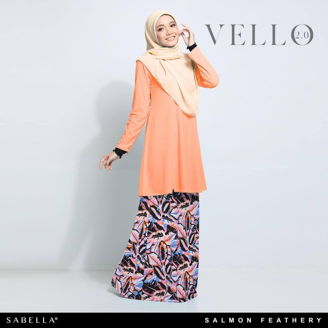 Vello 2.0 Salmon Feathery