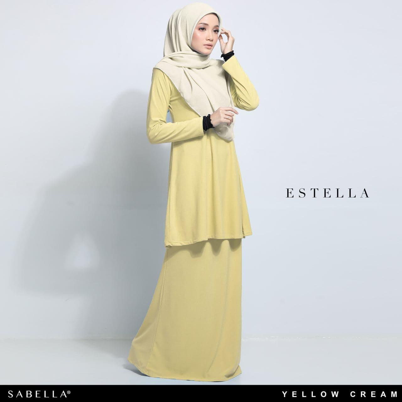Estella 2.0 Yellow Cream
